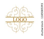flourishes calligraphic art... | Shutterstock .eps vector #1185085393