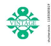flourishes calligraphic art... | Shutterstock .eps vector #1185085819