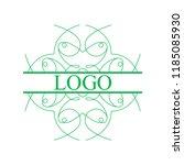 flourishes calligraphic art... | Shutterstock .eps vector #1185085930