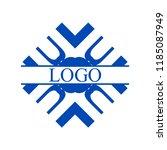 flourishes calligraphic art... | Shutterstock .eps vector #1185087949