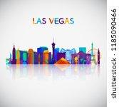 Las Vegas Skyline Silhouette I...