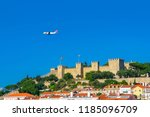 lisbon  portugal   september 18 ... | Shutterstock . vector #1185096709