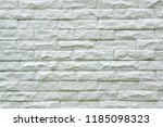 white brick wall texture and... | Shutterstock . vector #1185098323