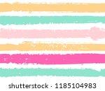 horizontal ink lines paint... | Shutterstock .eps vector #1185104983