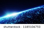 3d illustration. connection... | Shutterstock . vector #1185106753