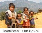 sapa  vietnam   june 19  2018 ... | Shutterstock . vector #1185114073