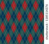 Christmas Plaid Argyle Pattern...