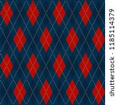 Christmas Plaid Argyle Pattern...