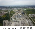 aerial drone image of a... | Shutterstock . vector #1185126859