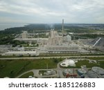 aerial drone image of a... | Shutterstock . vector #1185126883