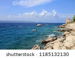 summer landscape near adriatic... | Shutterstock . vector #1185132130