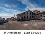 salar de uyuni  bolivia  march...   Shutterstock . vector #1185134296