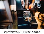 coffee tamper waiting for... | Shutterstock . vector #1185155086