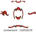 christmas frames. vector | Shutterstock .eps vector #118518139