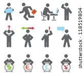business icons. vector set | Shutterstock .eps vector #118519804