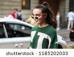 milan  italy   september 21 ...   Shutterstock . vector #1185202033