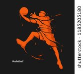 Basketball Player Splash