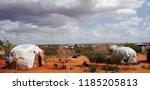somali village  ogaden  ethiopia | Shutterstock . vector #1185205813
