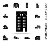 skyscraper  icon. house icons... | Shutterstock . vector #1185247120