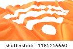 3d render  realistic wavy flag... | Shutterstock . vector #1185256660