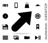 bold arrow icon. web icons...