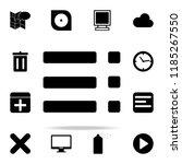menu icon. web icons universal...