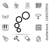 bubbles icon. web icons...