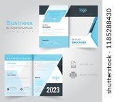 business bi fold brochure... | Shutterstock .eps vector #1185288430