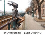 budapest  hungary   january 19  ... | Shutterstock . vector #1185290440