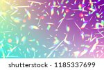vector rainbow gradient with... | Shutterstock .eps vector #1185337699