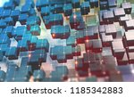 blockchain technology.... | Shutterstock . vector #1185342883