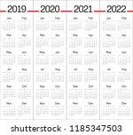 year 2019 2020 2021 2022...   Shutterstock .eps vector #1185347503