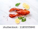 Freshly Boiled Red Lobster Wit...