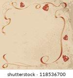 christmas retro background   Shutterstock .eps vector #118536700