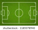 football field or soccer field... | Shutterstock .eps vector #1185378940