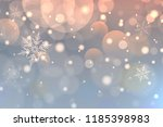 christmas background with... | Shutterstock .eps vector #1185398983