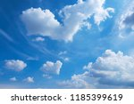 clouds and blue sky background | Shutterstock . vector #1185399619
