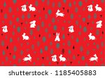 pattern background design of... | Shutterstock . vector #1185405883