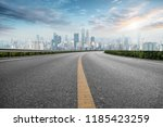 road pavement and chongqing... | Shutterstock . vector #1185423259