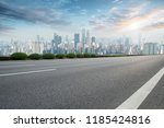 road pavement and chongqing... | Shutterstock . vector #1185424816