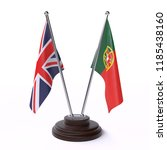 united kingdom and portugal ... | Shutterstock . vector #1185438160