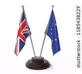 united kingdom and european... | Shutterstock . vector #1185438229