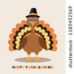 Vector Card For Thanksgiving...