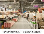 building materials in the... | Shutterstock . vector #1185452806