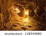 The Thurston Lava Tube in Hawaii Volcano National Park, Big Island.