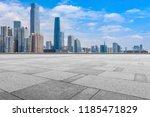 urban skyscrapers with empty... | Shutterstock . vector #1185471829