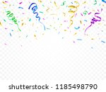 isolated party decoration... | Shutterstock .eps vector #1185498790