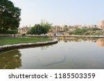 al bujairi park in old city in... | Shutterstock . vector #1185503359