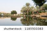 al bujairi park in old city in... | Shutterstock . vector #1185503383