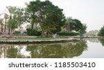 al bujairi park in old city in... | Shutterstock . vector #1185503410
